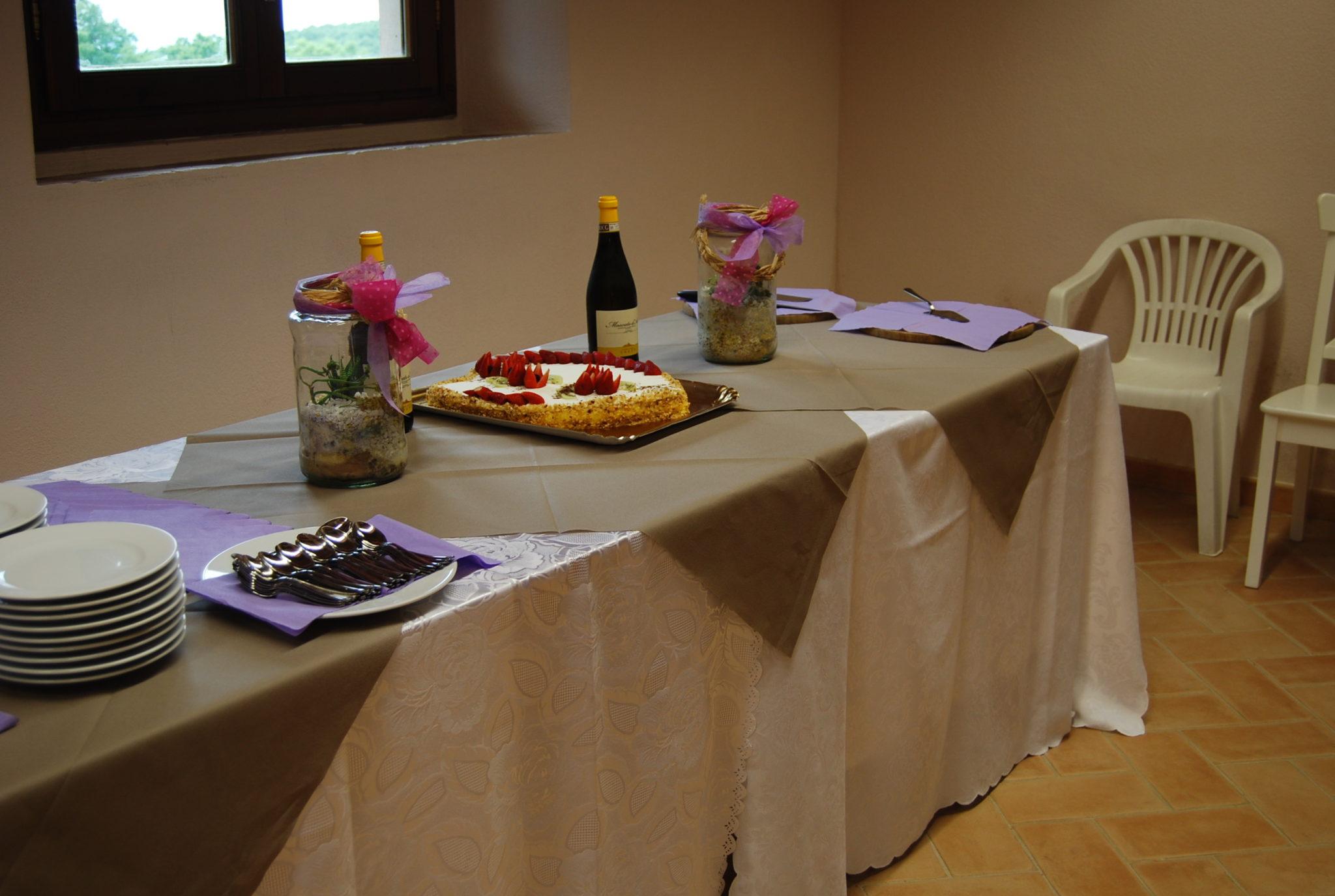 buffet comunione