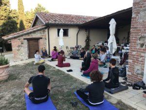 vacanze yoga Val d' Orcia