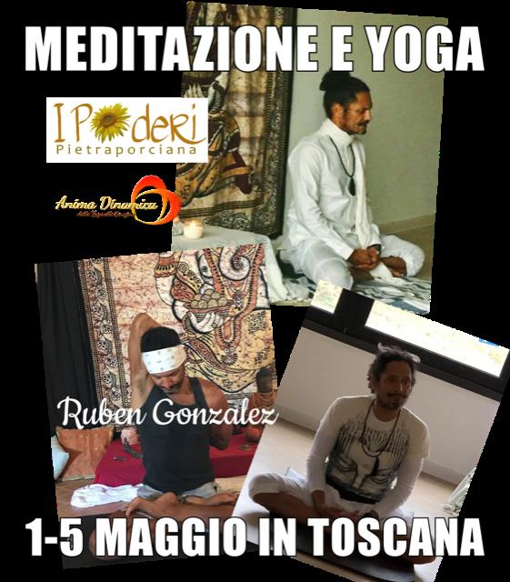 Yoga e meditazione agriturismo ipoderi